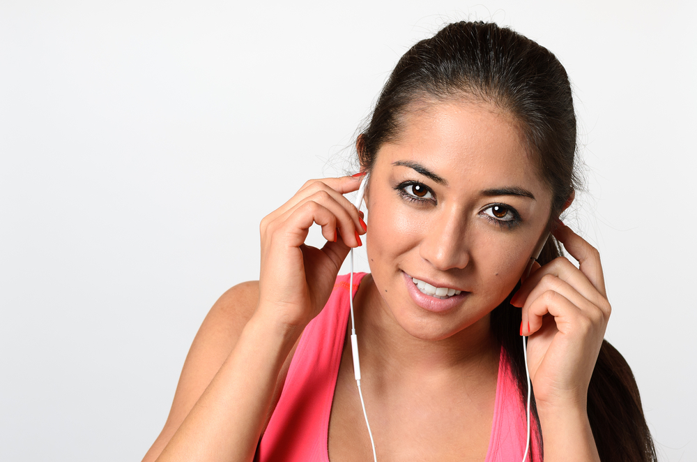 audio books during workouts