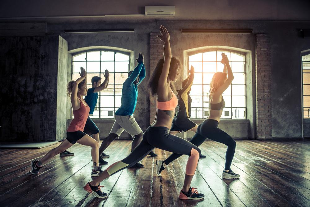dance workouts and phenblue