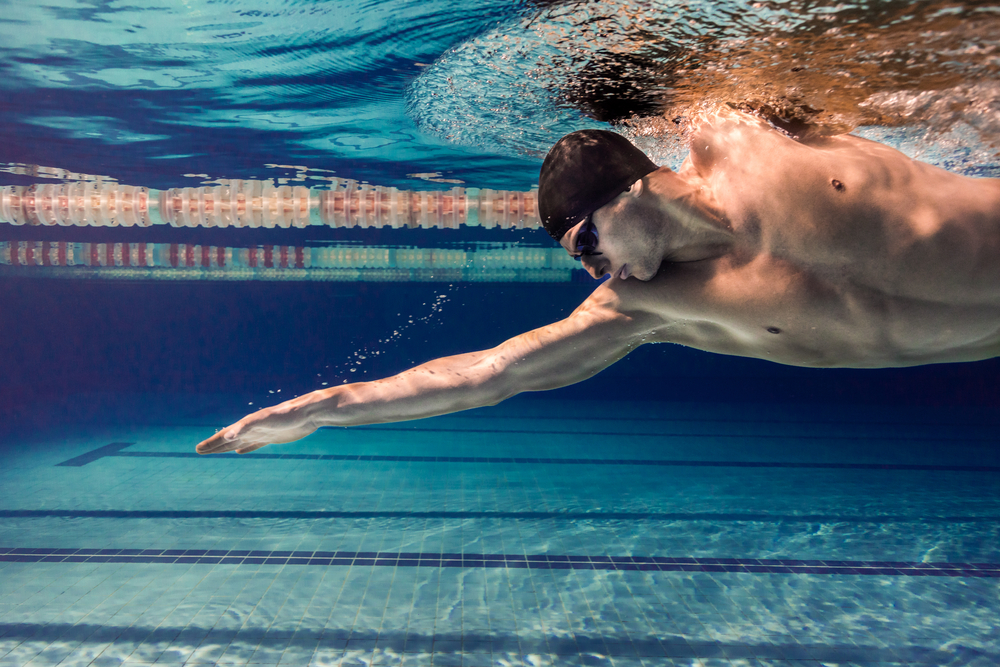 how to listen to music while swimming