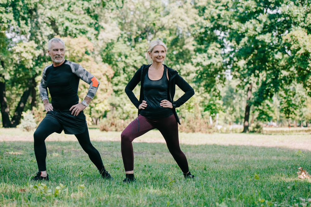 music and outdoor fitness