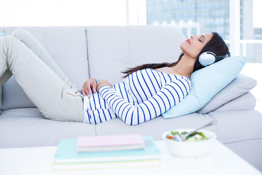 sleep weight loss music helps