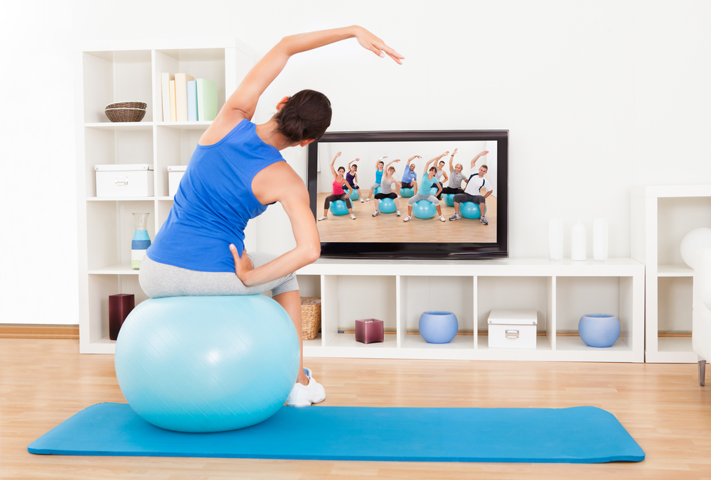 workout videos that include music to keep you going